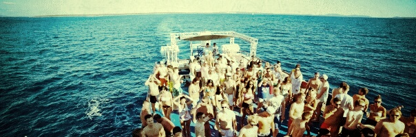 Boot Party Insel Pag