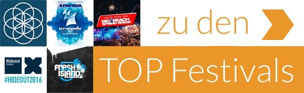 Zu den Top Festivals