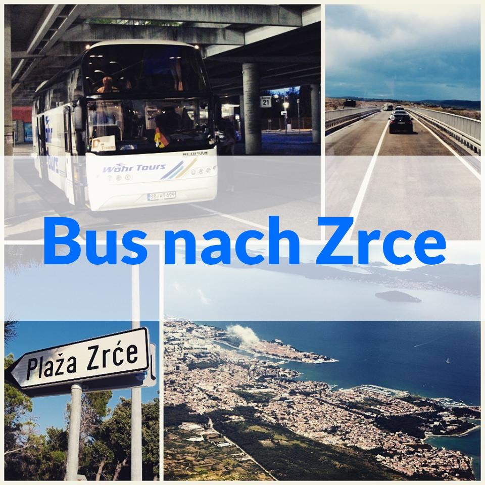 Bus Nach Novalja Zrce Insel Pag Zrceeu
