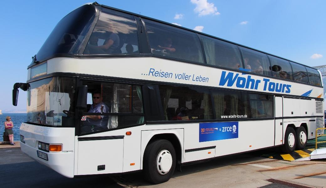 Der Zrce Novalja Bus