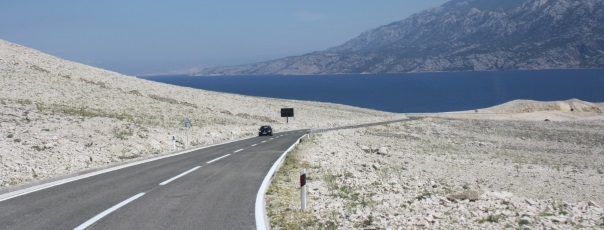 Kroatien Insel Pag mit dem Auto
