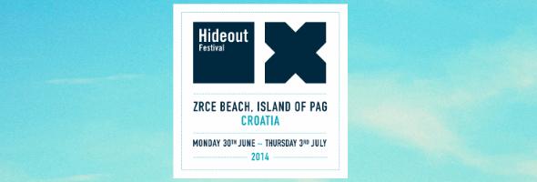 hideout flyer