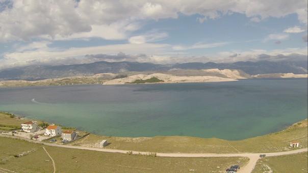 Foto aus der Luft Insel Pag (1)