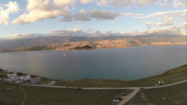 Foto aus der Luft Insel Pag (2)