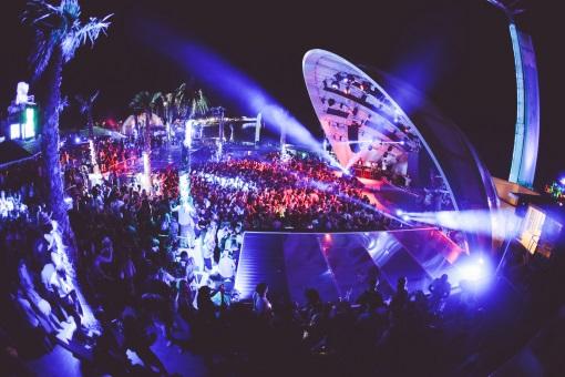 Party bei Nacht in Zrce Novalja