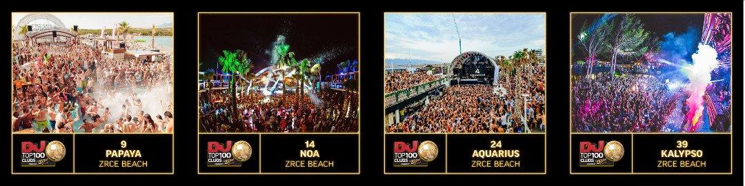 Zrce Clubs Top 100 DJ Mag