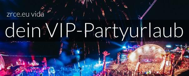 VIP-Partyurlaub am Zrce