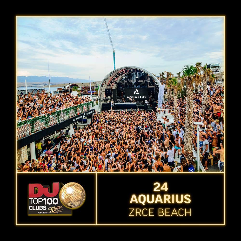Aquarius Zrce Top 24 Club DJ Mag