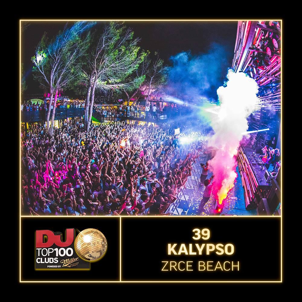 Kalypso Zrce TOP 39 DJ MAG