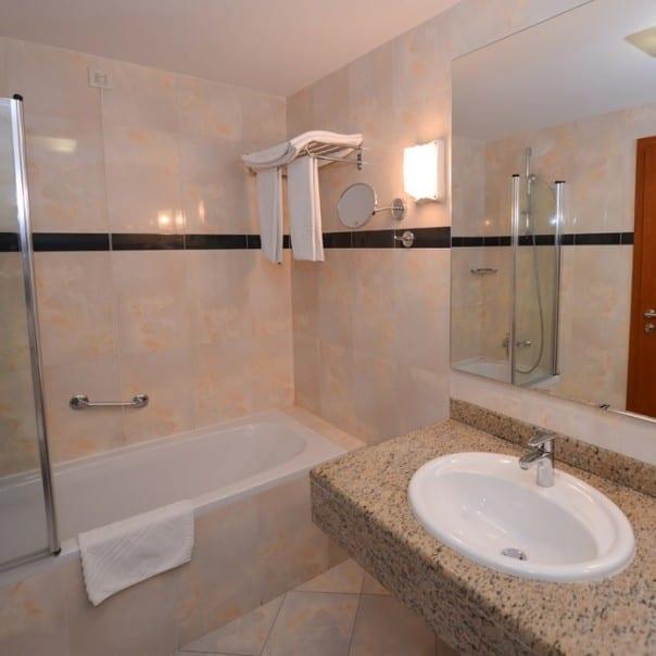 Badezimmer - Hotel Luna - Insel Pag