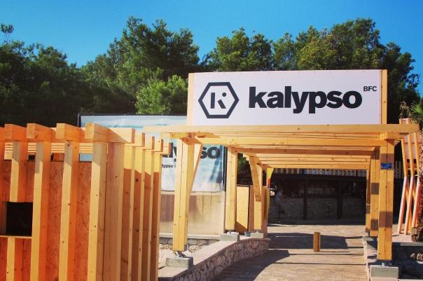 Zrce Saison Rückblick 2014 Kalypso mit neuer Fasade