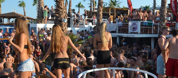 After Beach im Club Papaya Zrce