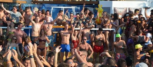 After Beach im Club Papaya
