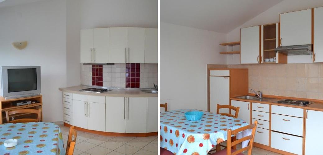 Küchen - Novalja Apartmenthaus Dreamy