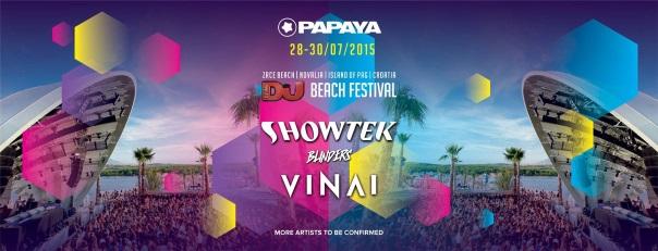 Flyer und Bild DJ Mag Beach Festival