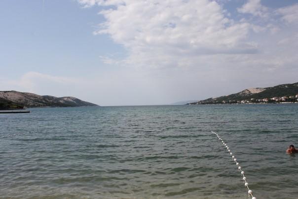 Planjka Trincel Blick aufs Meer