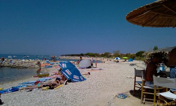 Strand bei Caska