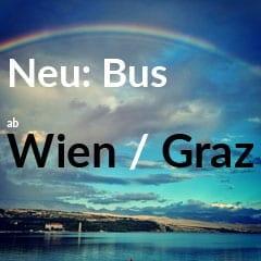 Bus ab Wien und Graz