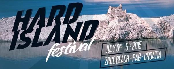Flyer und Bild Hard Island Festival