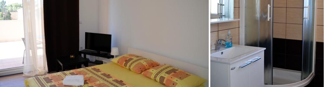 Slobodan Betten und Bad
