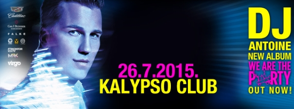 DJ Antoine im Kalypso