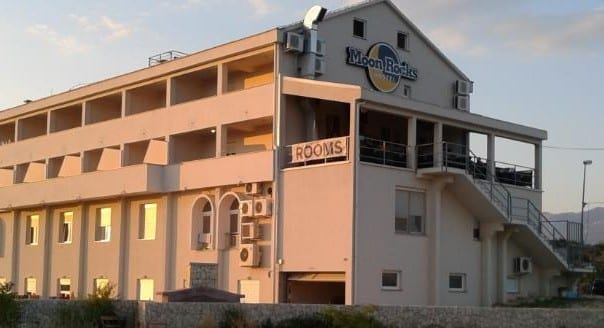 Moon Rock's Hostel in Novalja.