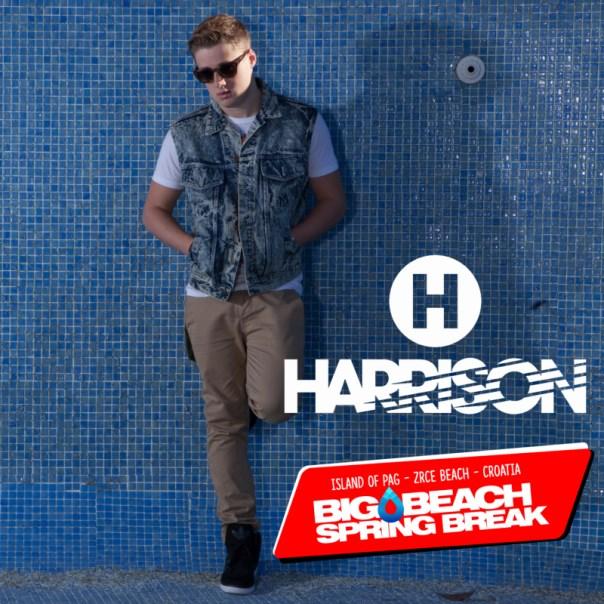 Harrison beim Big Beach Spring Break