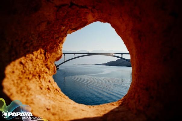 Brücke Insel Pag