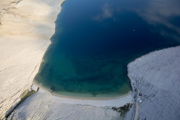 Insel Pag verlassene Bucht