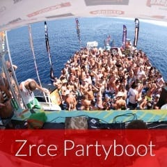 Zrce Partyboot
