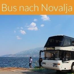 Bus nach Novalja