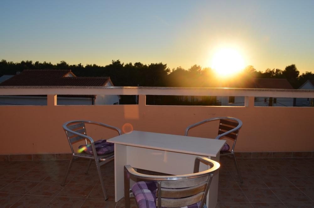 Ocean Apartment Novalja Balkon