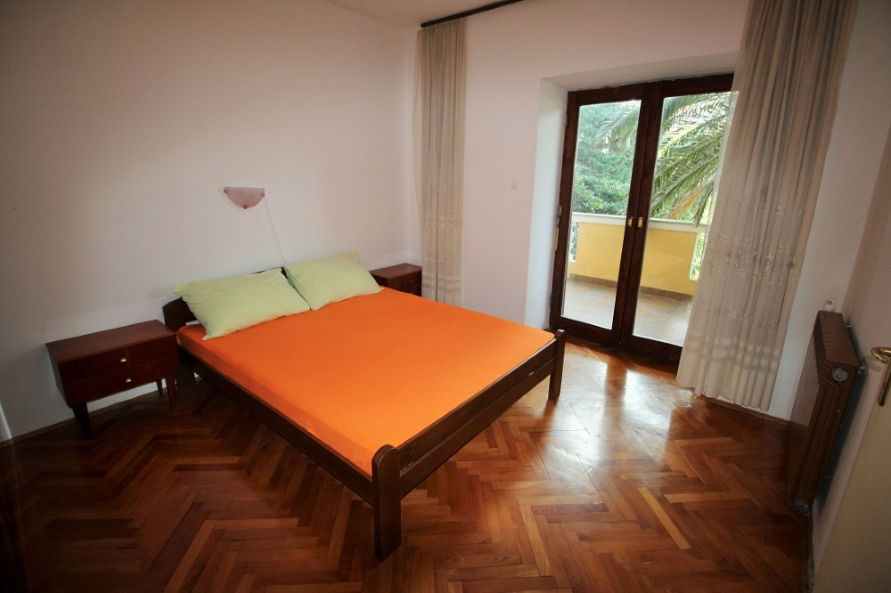 Vanity Apartmenthaus Novalja Zimmer mit Bett