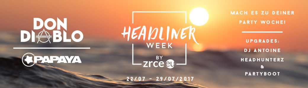 Headliner week 2017 by zrce.eu