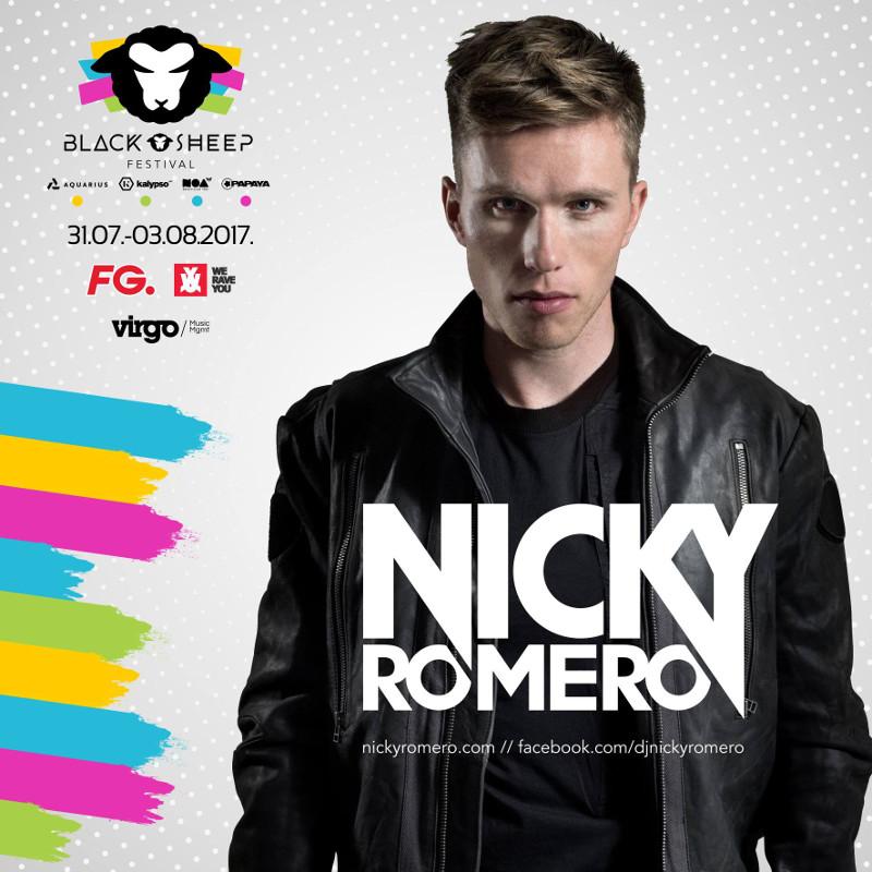 Nicky Romero Black Sheep Festival 2017